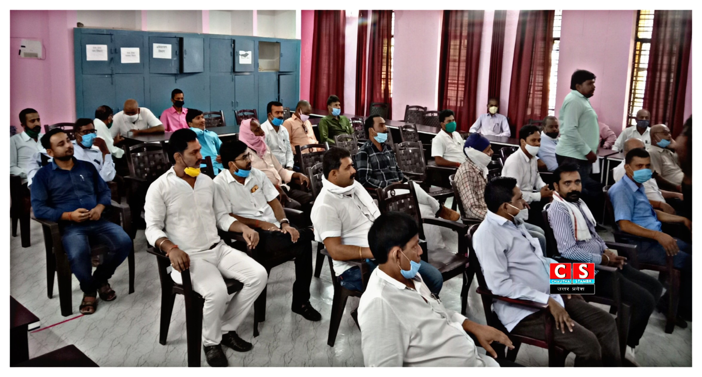 #Swearing_in_ceremony_of_Revenue_Bar_Association_CHAUTHA_STAMBH_News_UttarPradesh2